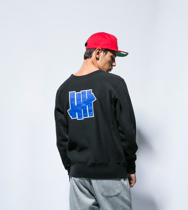 UNDEFEATED CHAMPION RW 5STRIKES CREW SWEAT (167-C8-J028)