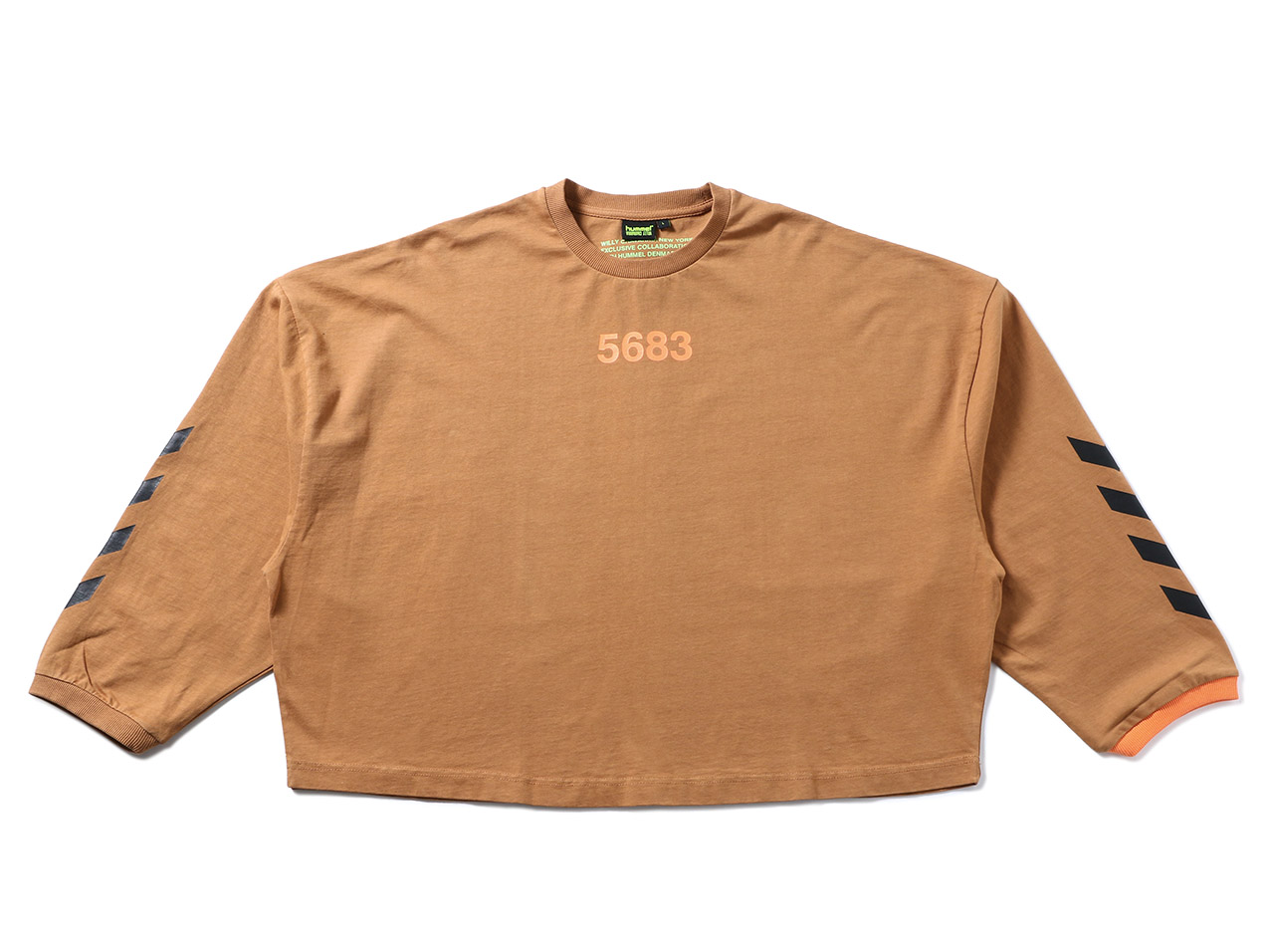 【10%OFF!】WILLY CHAVARRIA hmlWILLY RUFF NECK T-SHIRT L/S(207469)【ウィリーチャバリア】【メンズファッション】【トップス】【Tシャツ】【ストリート】