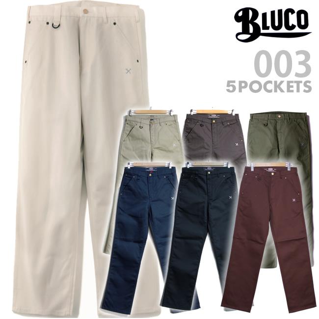 BLUCO ブルコ 5ポケットスタンダードワークパンツ 送料無料 70%OFFアウトレット 日本正規品 ワークパンツ OL-003 メンズ WORK STANDARD ストレート PANTS GARMENT チノパン 5ポケット