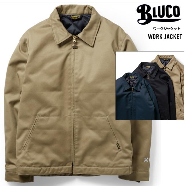 定番ワークジャケット2020バージョン中綿シンサレートで暖かくシンプルなデザインで長く愛用できます 2020 BLUCO ブルコ ワークジャケット 送料無料 人気 GARMENT オンライン限定商品 メンズ WORK ブルコワークガーメント