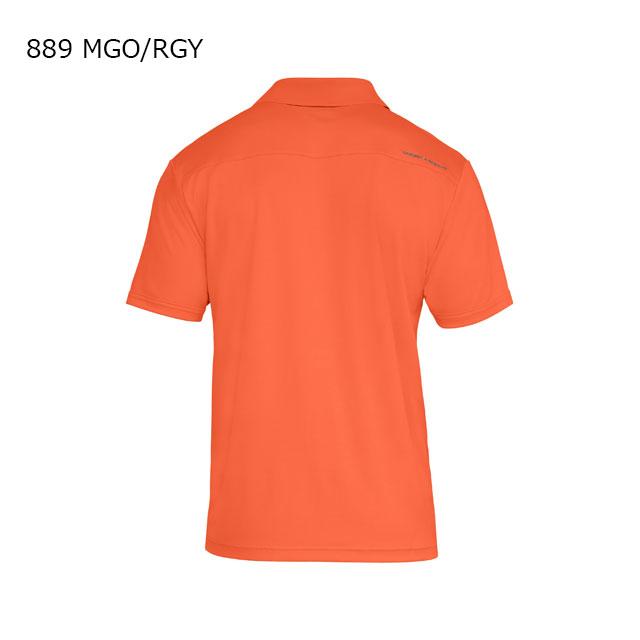 ☆ネコポス アンダーアーマー メンズ ポロシャツ 半袖 ボタン ゴルフ UA パフォーマンスポロ ヒートギア ルーズ 1325109 あす楽対応可 クリアランス セール