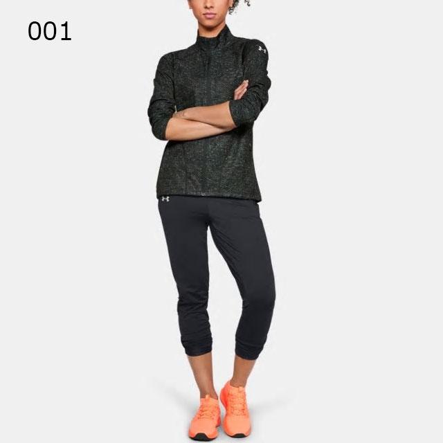 アンダーアーマーレディースロングパンツUAコールドギアランパンツ防寒フィッティドリフレクトランニングマラソントレーニング1317297