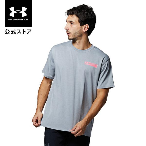 価格 交渉 送料無料 全品送料無料 公式 アンダーアーマー UNDER ARMOUR UAヘビー ウエイト トレーニング チャージドコットン メンズ Tシャツ 1365069 トレンド グラフィック