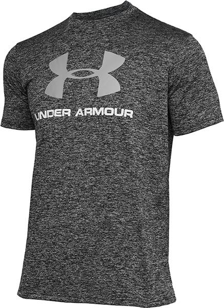 全品送料無料 トレンド 高品質新品 公式 アンダーアーマー UNDER ARMOUR UAテック メンズ 1359132 ショートスリーブ トレーニング ビッグロゴ