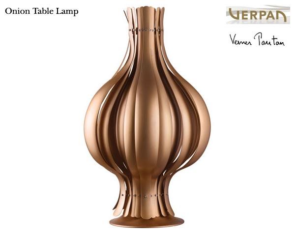 Onion table/オニオン テーブル ブロンズ Copper 銅 Verner Panton/ヴァーナー・パントンデザイン スペースエイジ 照明 ライト ランプ varpan/ヴァーパン社 正規品保証【新品】