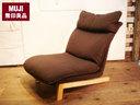 出售 1 座躺椅沙发 1 座位无印良品 / 无印良品一个沙发棕色椅子椅子北欧家具喜欢