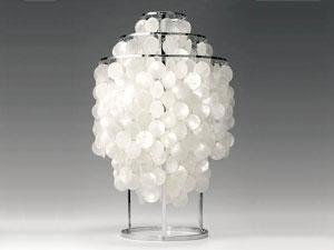 FUN Shell 1TM/ファンシェル テーブルタイプ 1TM Verner Panton/ヴァーナー・パントンデザイン スペースエイジ 照明 ライト ランプ Varpan/ヴァーパン デンマーク フランゼン社 正規品保証【新品】