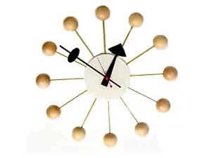 Ball Clock/ボールクロック vitra/ヴィトラ社製 George Nelson/ジョージネルソン 展示割引価格:アンダーグラウンド