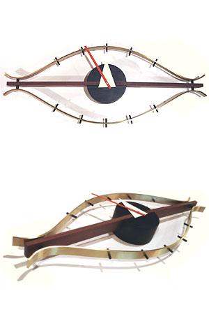 George Nelson/ジョージネルソン eyeclock/アイクロック ミッドセンチュリー 掛時計 リプロダクト品 ネルソンクロック【新品】