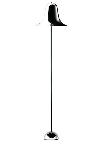 最後の1台 Pantop-Floor /パントップ フロアータイプ クローム Verner Panton/ヴァーナー・パントンデザイン スペースエイジ 照明 ライト ランプ Varpan/ヴァーパン デンマーク フランゼン社 正規品保証【新品】
