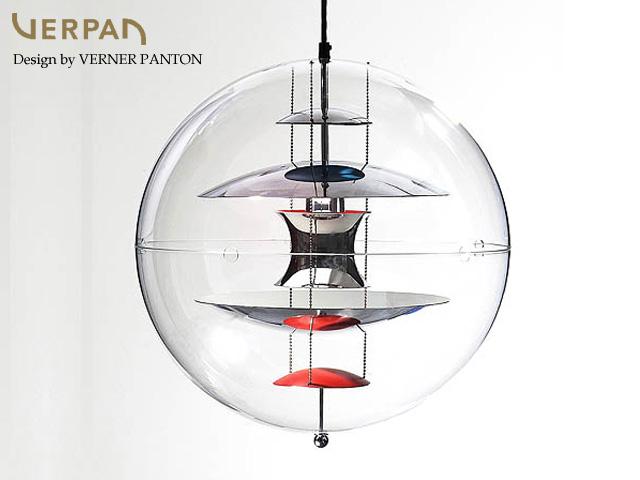 GLOBE/グローブ 50cm Verner Panton/ヴァーナー・パントンデザイン スペースエイジ 照明 ライト ランプ Varpan/ヴァーパン デンマーク フランゼン社 正規品保証【新品】