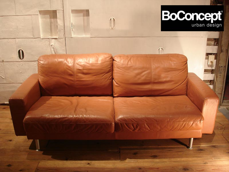 Sale Boconcept Boconcept Leather Sofa Brown Interior Nordic Nordic Denmark Furniture Leather Leather Price 200000 Yen Before And After Beauty