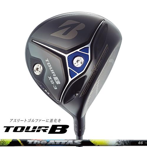 BRIDGESTONE GOLF【ブリヂストン】TOUR B XD-3 ドライバー The ATTAS 6 カーボンシャフト【ツアーB】特注モデル