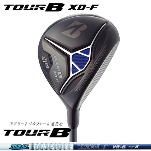 BRIDGESTONE GOLF【ブリヂストン】TOUR B XD-F フェアウェイウッド TOUR AD VR-6 カーボンシャフト【ツアーB】