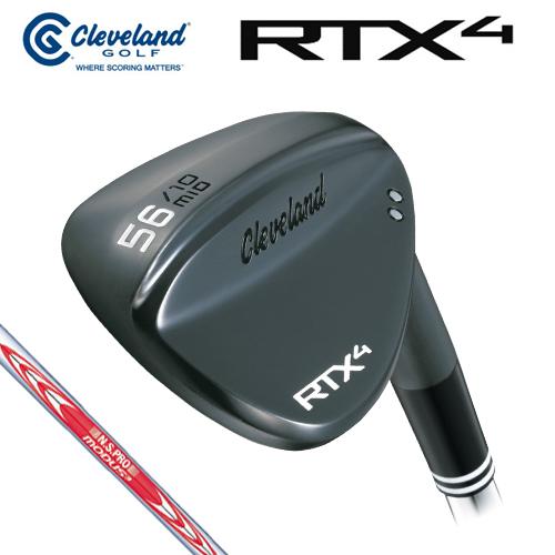 Cleveland GOLF【クリーブランド】RTX4 ブラックサテン ウェッジ N.S.PRO MODUS3 TOUR120 スチールシャフト [日本正規品] RTX-4