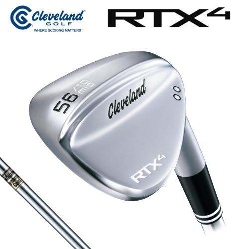 Cleveland GOLF【クリーブランド】RTX4 ツアーサテン ウェッジ ダイナミックゴールド スチールシャフト [日本正規品] RTX-4 RTX 4
