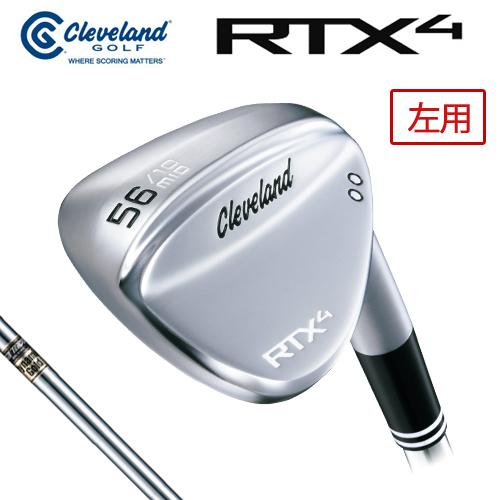 Cleveland GOLF【クリーブランド】RTX4 【左用】 ツアーサテン ウェッジ ダイナミックゴールド スチールシャフト [日本正規品] rtx-4