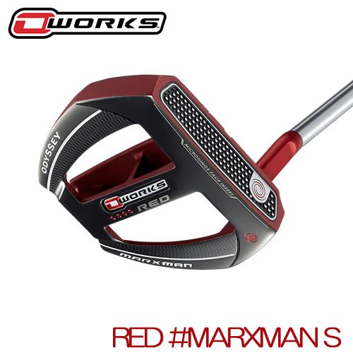 ODYSSEY【オデッセイ】O-WORKS RED パター【MARXMAN S】【日本正規品】オーワークス マークスマンS