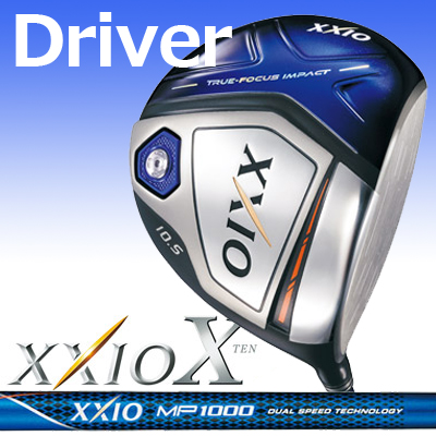 DUNLOP【ダンロップ】XXIO X【ゼクシオテン】ドライバー ゼクシオ MP1000 カーボンシャフト【ネイビー】