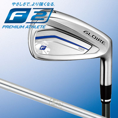 TaylorMade【テーラーメイド】【GLOIRE F2】グローレF2 単品アイアン (#4、#5、AW、SW) N.S.PRO 930 GH スチールシャフト