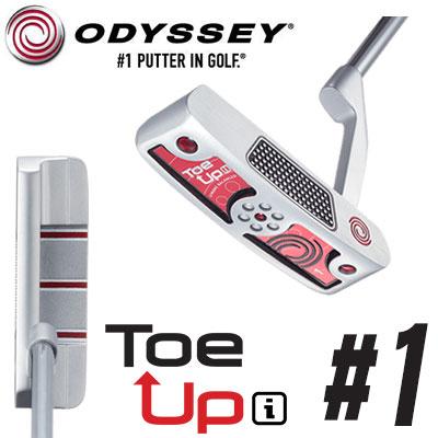 ODYSSEY【オデッセイ】Toe Up i パター #1 【トゥ アップアイ】