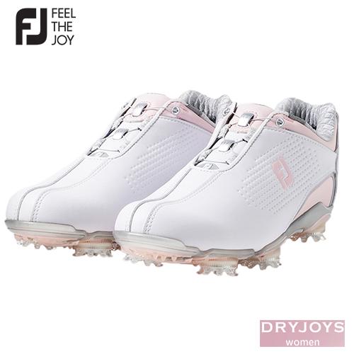日本正規品 FOOTJOY フットジョイ DRYJOYS Boa for women 2020 ピンク 99074 ゴルフシューズ W 売却 レディース ホワイト 高価値 2020モデル