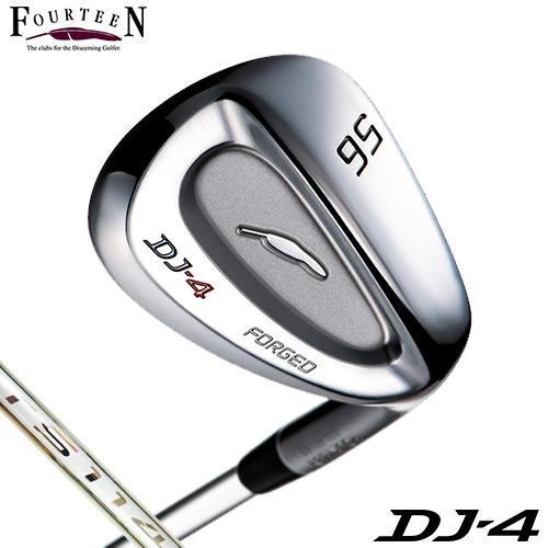 FOURTEEN【フォーティーン】DJ-4 ウェッジ N.S.PRO TS-114w(125g) スチールシャフト【DJ4】
