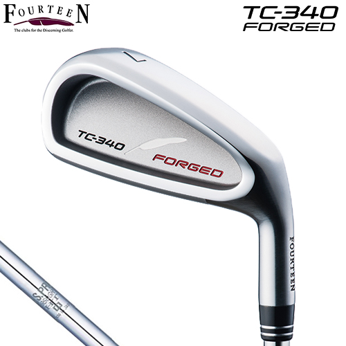 FOURTEEN【フォーティーン】TC-340 FORGED 単品アイアン (#5,#P/A) N.S.PRO 950GH HT スチールシャフト TC340 フォージド【受注生産】