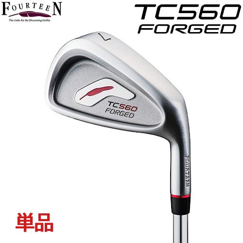 FOURTEEN【フォーティーン】TC-560 FORGED 単品アイアン (#P/A) NS.PRO 950GH HT スチールシャフト TC560 フォージド