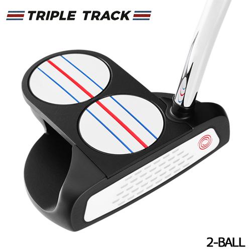 ODYSSEY【オデッセイ】TRIPLE TRACK トリプル トラック 2-BALL パター [日本正規品]【2020年モデル】3tr 2ボール