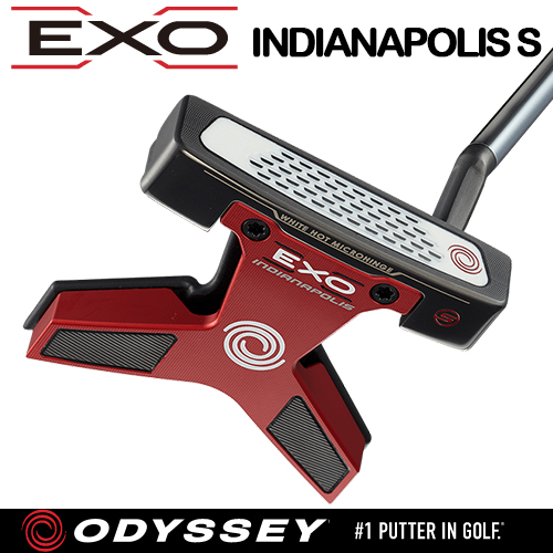 ODYSSEY【オデッセイ】EXO INDIANAPOLIS S パター【エクソー インディアナポリス エス】「日本正規品」