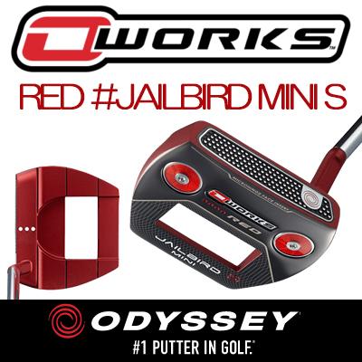 ODYSSEY【オデッセイ】O-WORKS RED パター【JAILBIRD MINI S】【日本正規品】オーワークス【ジェイルバードS】