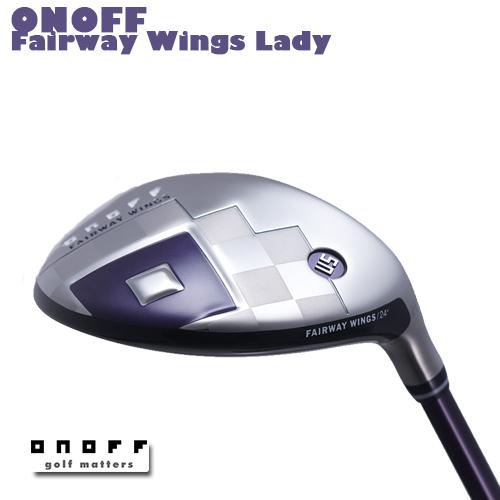 ONOFF【オノフ】レディース 2019 FAIRWAY WINGS -ユーティリティ- SMOOTH KICK LP-418U カーボンシャフト【グローブライド】GLOBERIDE