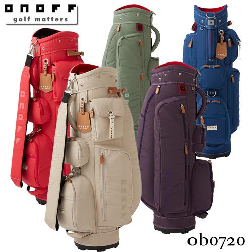 ONOFF【オノフ】Caddie Bag OB0720 キャディバッグ【グローブライド】GLOBERIDE【2020年モデル】