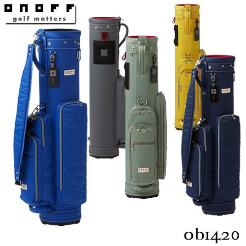 ONOFF【オノフ】Caddie Bag OB1420 キャディバッグ【グローブライド】GLOBERIDE【2020年モデル】