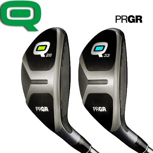 PRGR【プロギアQ】ユーティリティ (Q28/Q33) Qカーボンシャフト REG 【プロギアキュー】
