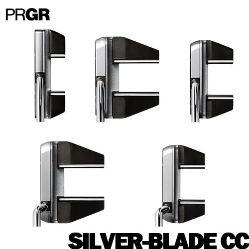 PRGR【プロギア】SILVER-BLADE CC パター【シルバーブレード】センターシャフト ベントネック