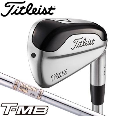 Titleist【タイトリスト】718 T-MB アイアン 単品(#2、#3、#4、50(W)) Dynamic Gold AMT スチールシャフト