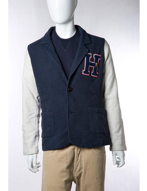 ハイドロゲン HYDROGEN ジャケット 2つボタン ノーベント メンズ 110030 ネイビー HYD値下 【ラッキーシール対応】