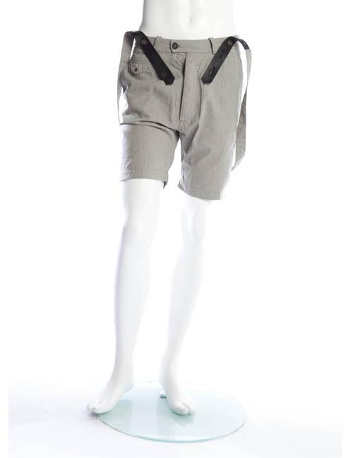ディーゼル DIESEL ハーフパンツ サスペンダー付き メンズ 00CUQA 00AYJ ダークグレイ 送料無料 楽ギフ_包装 アウトレット 【ラッキーシール対応】