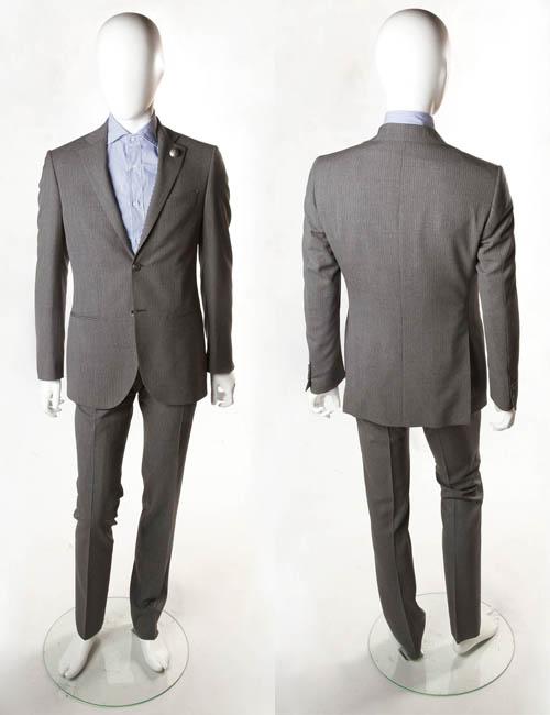 ハイドロゲン HYDROGEN スーツ 2つボタン サイドベンツ メンズ 120307 ANTRACITE HYD値下 【ラッキーシール対応】
