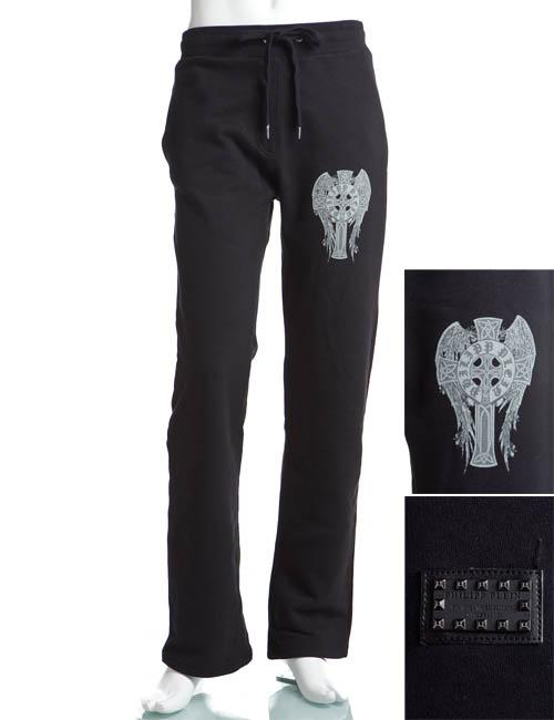 フィリッププレイン PHILIPP PLEIN フィリッププレイン パンツ メンズ HM610001 ブラック 送料無料 楽ギフ_包装 アウトレット 目玉商品 G-SALE 【ラッキーシール対応】