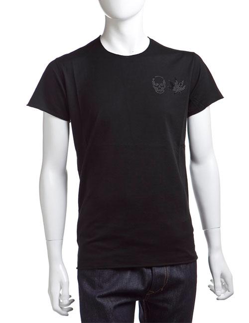 ルシアンペラフィネ lucien pellat-finet ペラフィネ Tシャツ メンズ EVH1310 ブラック 送料無料 楽ギフ_包装 LPF値下 【ラッキーシール対応】