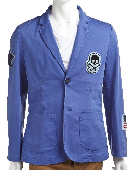 ハイドロゲン HYDROGEN ジャケット メンズ 148700 ブルー ハイドロゲン HYDROGEN 【ラッキーシール対応】