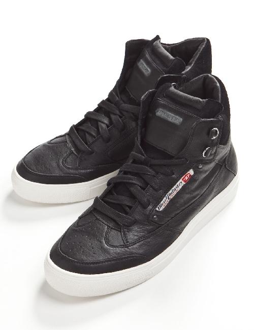 ディーゼル DIESEL ディーゼル スニーカー 靴 ディーゼル ハイカット ディーゼル 靴 メンズ Y00063 PR131 ブラック ディーゼル DIESEL ディーゼル 当店一押 【ラッキーシール対応】