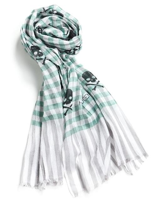 ハイドロゲン HYDROGEN スカーフ 143300 グリーン HYD底値挑戦 目玉商品 【ラッキーシール対応】