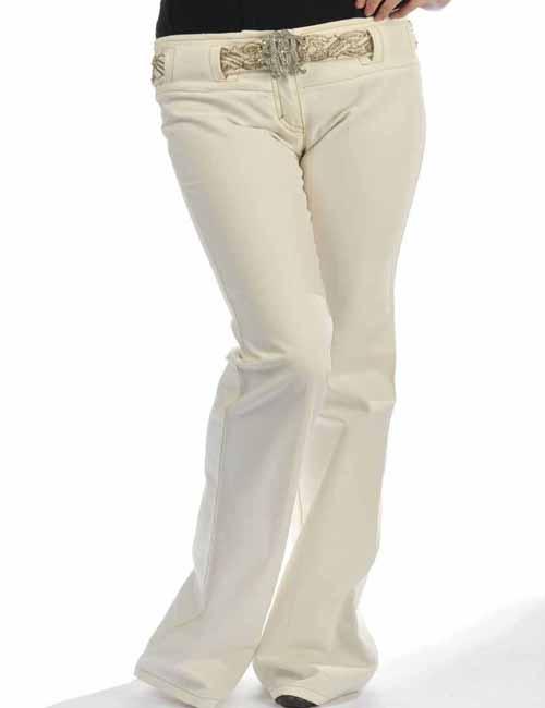 ロベルトカバリ roberto cavalli パンツ レディース HP1242KS002 ホワイト 送料無料 目玉商品