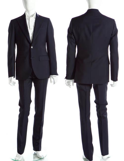 ハイドロゲン HYDROGEN スーツ メンズ 105011 ネイビー HYD値下 【ラッキーシール対応】
