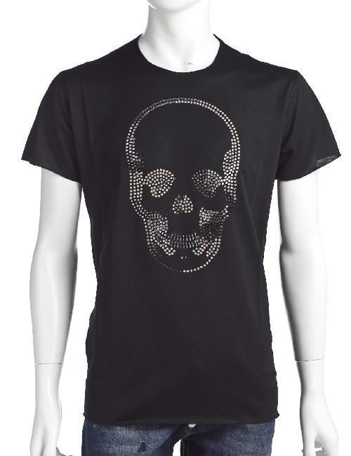 ルシアンペラフィネ lucien pellat-finet ペラフィネ Tシャツ メンズ EVH1553 ブラック 送料無料 楽ギフ_包装 LPF値下 【ラッキーシール対応】