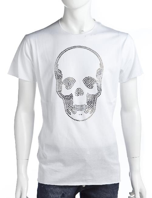 ルシアンペラフィネ lucien pellat-finet ペラフィネ Tシャツ メンズ EVH1553 ホワイト 送料無料 楽ギフ_包装 LPF値下 【ラッキーシール対応】
